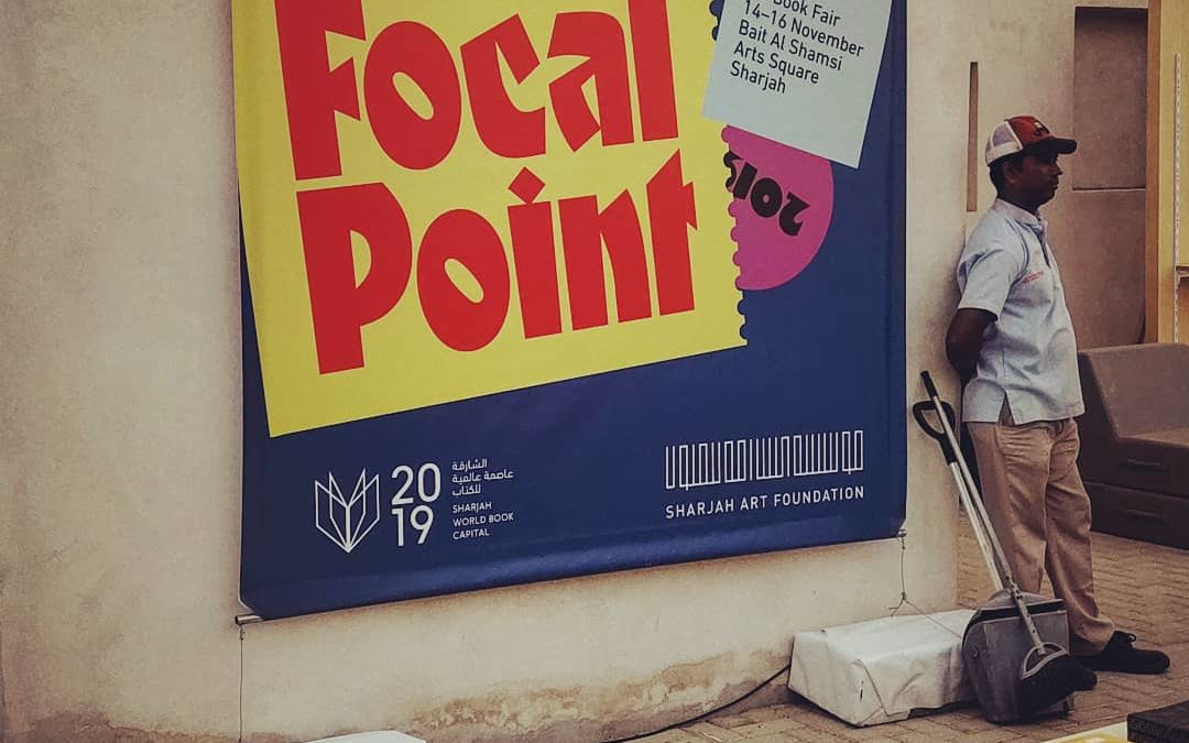 Focal Point Art Book Fair, Sharjah